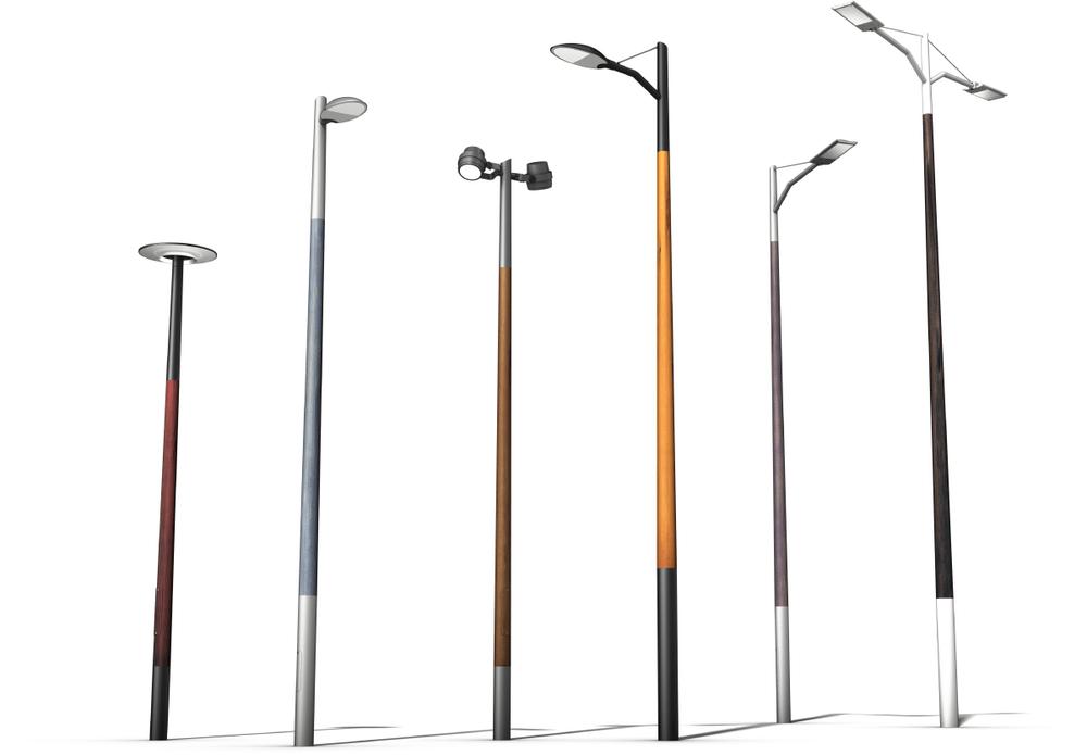 kompozit lámpaoszlopok
