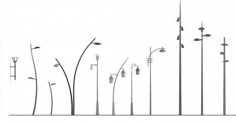 világító oszlop